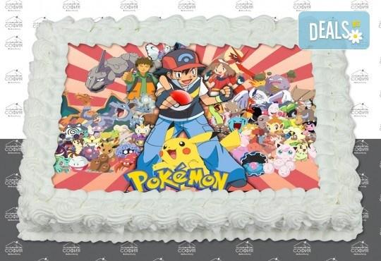 Изненадайте своя малчуган! Детска торта с картинка на любим герой и пълнеж по избор + безплатна доставка от Сладка София! - Снимка 14