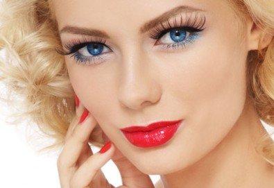 Кукленски поглед с перфектни дълги и плътни мигли! Удължаване и сгъстяване на мигли със синтетични снопчета в Beauty center D&M! - Снимка