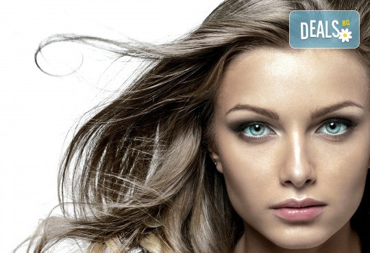 Нова прическа в свежи цветове, боядисване в стил Омбре, подстригване, масажно измиване, възстановяваща маска и прав сешоар в салон Diva! - Снимка 2