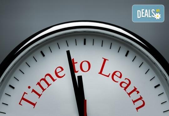 1 урок по разговорен английски език с квалифициран преподавател и учебни материали в La Scuola language school - Снимка 1