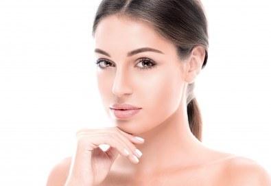 Покажете естествената си красота с помощта на грим с ефект без грим с шведска козметика в салон Ева