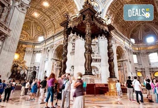 Самолетна екскурзия до Рим - сърцето на Италия, през юли или септември! 3 нощувки със закуски в хотел 2*, самолетен билет, трансфери и водач - Снимка 19