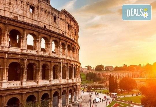 Самолетна екскурзия до Рим - сърцето на Италия, през юли или септември! 3 нощувки със закуски в хотел 2*, самолетен билет, трансфери и водач - Снимка 1