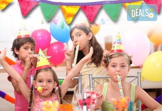Детски рожден ден за 10 деца - в зала с много игри, рисунки на лице, подаръци и аниматори от Детски клуб Евърленд - Снимка 1