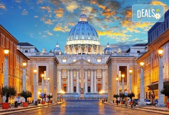 Есенна екскурзия в Рим - 4 дни, 3нощувки със закуски в хотел 4*, самолетен билет и летищни такси от Абела Тур - Снимка 1