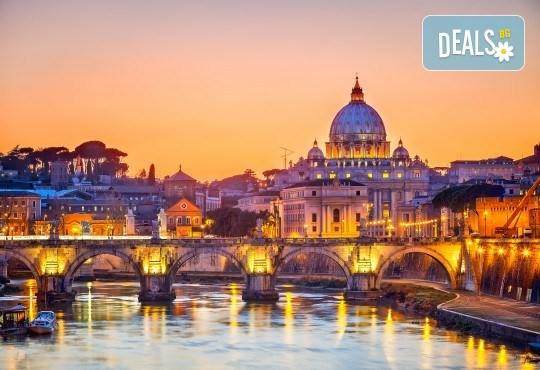 Есенна екскурзия в Рим - 4 дни, 3нощувки със закуски в хотел 4*, самолетен билет и летищни такси от Абела Тур - Снимка 2