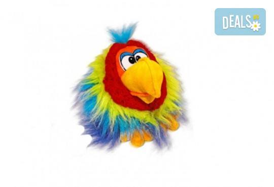 Вземете жълт плюшен, говорещ папагал от Toys.bg! - Снимка 1