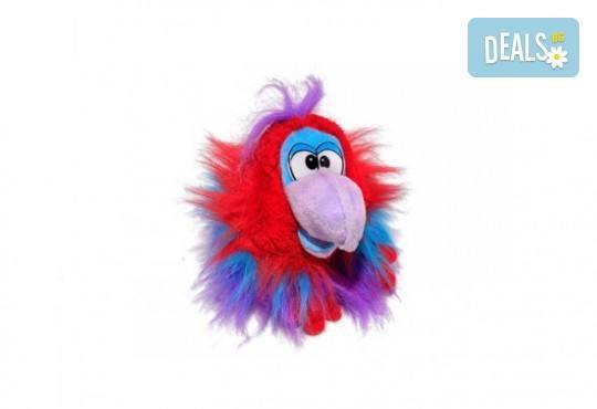 Вземете лилав плюшен, говорещ папагал от Toys.bg! - Снимка 1