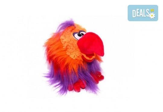 Вземете червен плюшен, говорещ папагал от Toys.bg! - Снимка 1