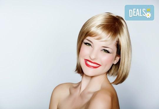 Подстригване при курсист - фризьор на BM Hair Studio под ръководството на професионален стилист! - Снимка 1