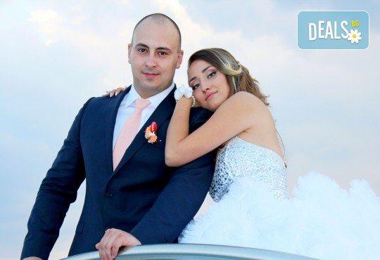 Само сега! На специална цена- пълен пакет за 2018-та за сватбено тържество! Фото, видео заснемане, Go Pro, дрон и подаръци! - Снимка 9