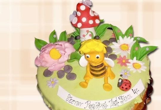 За най-малките! Детска торта с Мечо Пух, Смърфовете, Спондж Боб и други герои от Сладкарница Джорджо Джани - Снимка 13