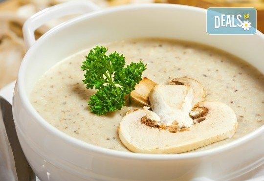 Вкусен обяд! Супа и готвено ястие по избор в Ресторант-механа Мамбо в центъра на София! - Снимка 2