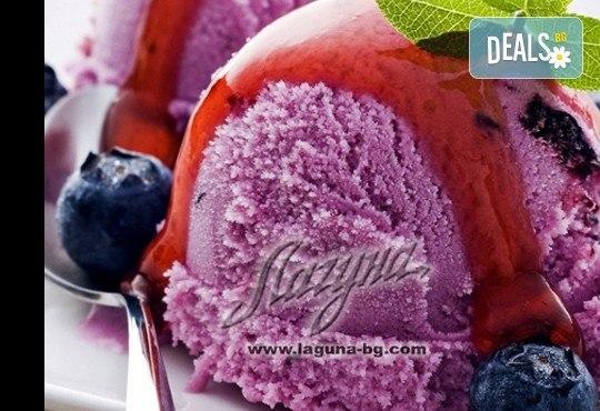 Изберете цял килограм невероятно вкусен сладолед за вкъщи за мелби и айс напитки с вкус по избор от Виенски салон Лагуна! - Снимка 2