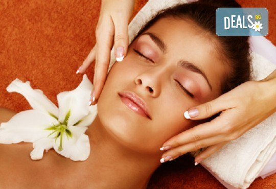 Почистване на лице и ръце на ензимно ниво, ароматерапия и масаж на цяло тяло с лечебно олио в от масажно студио Дилянали - Снимка 1