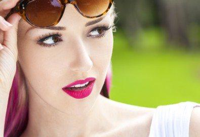 Очаровайте с красиви мигли! Поставяне на мигли по метода косъм по косъм от естествен косъм или 3D копринени мигли в Beauty Studio Flash G! - Снимка