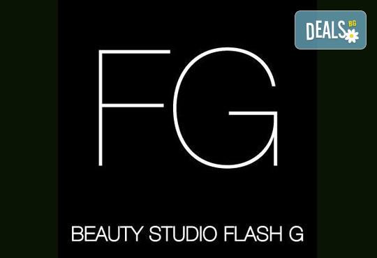 Педикюр с гел лак Gelish или Morgan Taylor или с обикновен лак по избор в Beauty Studio Flash G! - Снимка 6