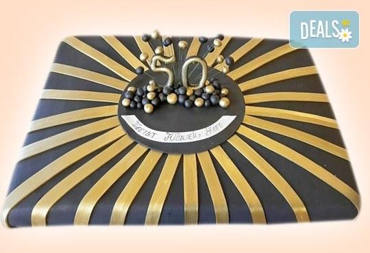 Цифри! Изкушаващо вкусна бутикова АРТ торта с цифри и размер по избор от Сладкарница Джорджо Джани - Снимка 2