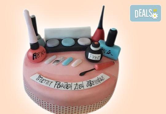 За момичета! Красиви детски торти за момичета с принцеси и приказни феи + ръчно моделирана декорация от Сладкарница Джорджо Джани - Снимка 18