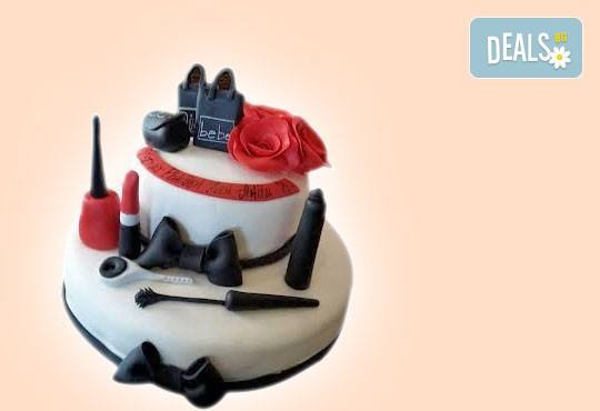 За момичета! Красиви детски торти за момичета с принцеси и приказни феи + ръчно моделирана декорация от Сладкарница Джорджо Джани - Снимка 4