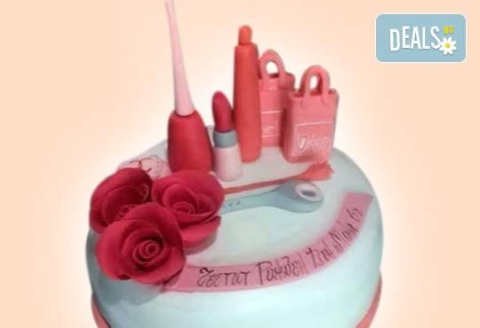 За момичета! Красиви детски торти за момичета с принцеси и приказни феи + ръчно моделирана декорация от Сладкарница Джорджо Джани - Снимка 20