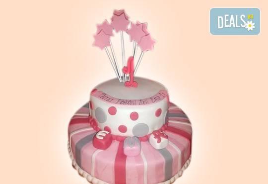 За момичета! Красиви детски торти за момичета с принцеси и приказни феи + ръчно моделирана декорация от Сладкарница Джорджо Джани - Снимка 23