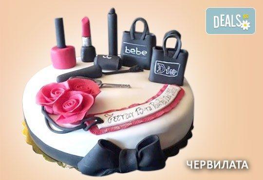 За момичета! Красиви детски торти за момичета с принцеси и приказни феи + ръчно моделирана декорация от Сладкарница Джорджо Джани - Снимка 17