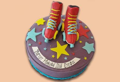 За момичета! Красиви детски торти за момичета с принцеси и приказни феи + ръчно моделирана декорация от Сладкарница Джорджо Джани - Снимка