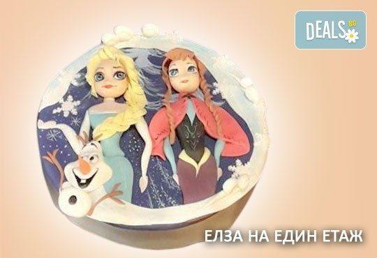 За момичета! Красиви детски торти за момичета с принцеси и приказни феи + ръчно моделирана декорация от Сладкарница Джорджо Джани - Снимка 12
