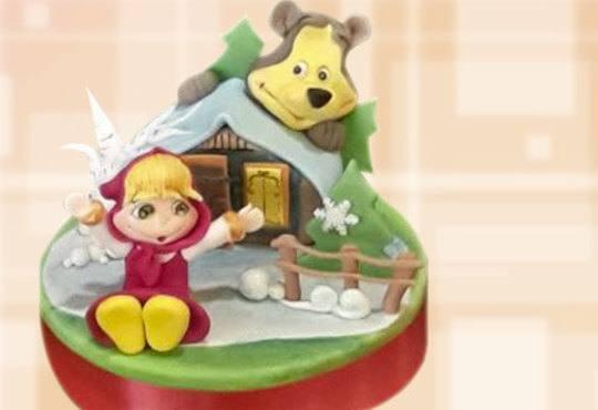 За момичета! Красиви детски торти за момичета с принцеси и приказни феи + ръчно моделирана декорация от Сладкарница Джорджо Джани - Снимка 30