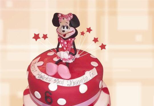 За момичета! Красиви детски торти за момичета с принцеси и приказни феи + ръчно моделирана декорация от Сладкарница Джорджо Джани - Снимка 19