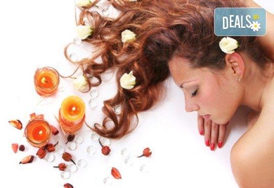 Дълбоко релаксиращ арома масаж на цяло тяло за дамите или релаксиращ масаж на гръб в студио Beauty, Лозенец! - Снимка 1