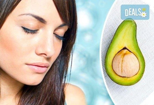 Жизнена кожа и тонус с 20-минутен масаж на глава и лице с масла от авокадо в студио Beauty, Лозенец! - Снимка 1