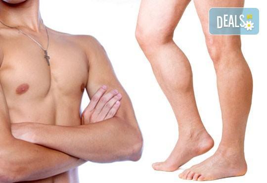 Фотоепилация за мъже - безболезнено и качествено с новия апарат SHR - революция в трайното обезкосмяване в Beauty center Body Silк - Снимка 1