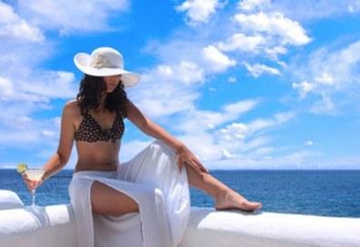 На плаж в Амолофи от юни до септември! 1 нощувка със закуска в Oceanis 3*, транспорт, екскурзовод и посещение на Кавала - Снимка