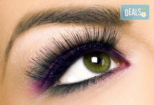 Ресници като от реклама! Перманентно извиване на мигли и бонус: боядисване по желание от NSB Beauty Center! - Снимка 2