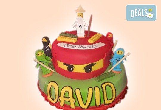 Детски торти 'MAX цветове' с 2, 3 или 4 фигурки и фотодекорация от Джорджо Джани
