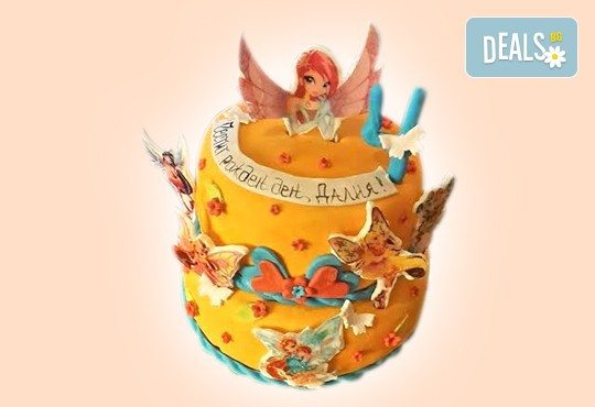 MAX цветове! Детски торти MAX цветове с 2, 3 или 4 фигурки, фотодекорация и апликация по дизайн на Сладкарница Джорджо Джани! - Снимка 12