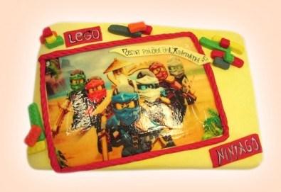 За момчета! Детски торти за момчета с коли и герои от филмчета с ръчно моделирана декорация от Сладкарница Джорджо Джани - Снимка