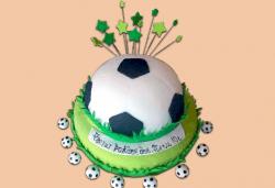 За спорта! Торти за футболни фенове, геймъри и почитатели на спорта от Сладкарница Джорджо Джани! - Снимка