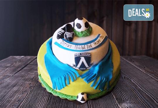 За спорта! Торти за футболни фенове, геймъри и почитатели на спорта от Сладкарница Джорджо Джани! - Снимка 20
