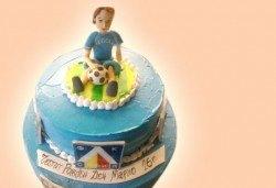 Торти за футболни фенове, геймъри и почитатели на спорта от Сладкарница Джорджо Джани - Снимка