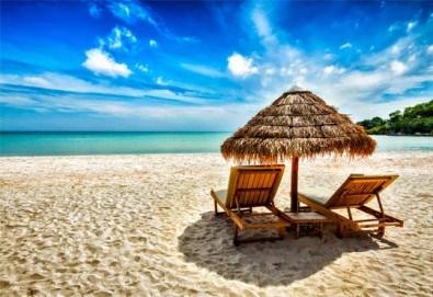 Екскурзия за един ден до красивия плаж Аммолофи в слънчева Гърция! Транспорт и водач от Дениз Травел! - Снимка