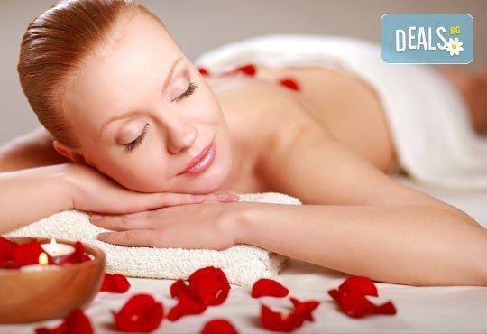 Масаж с роза! Луксозен SPA масаж за един или двама с цветове от червена роза и терапия с масло от роза Дамасцена в СПА център ''Senses Massage & Recreation''! - Снимка 2