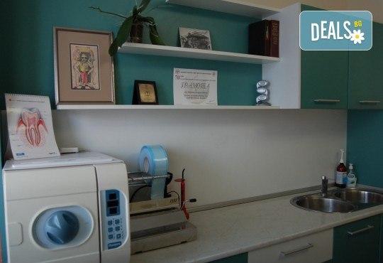 Професионална грижа за здрави зъби! Обстоен преглед, план на лечение, почистване на зъбен камък, полиране с Air Flow от МР Дент - Снимка 8