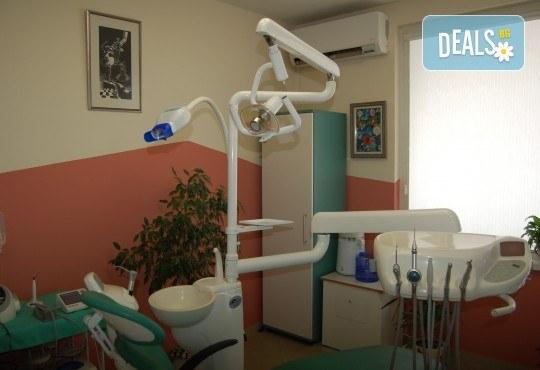 Професионална грижа за здрави зъби! Обстоен преглед, план на лечение, почистване на зъбен камък, полиране с Air Flow от МР Дент - Снимка 4