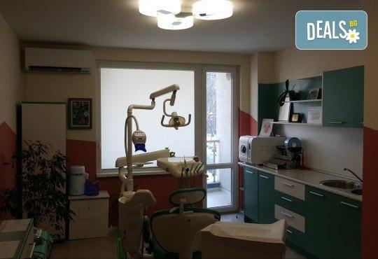 Професионална грижа за здрави зъби! Обстоен преглед, план на лечение, почистване на зъбен камък, полиране с Air Flow от МР Дент - Снимка 6