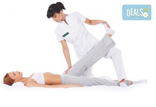 Отървете се от болката! 60-минутен физиотерапевтичен лечебен масаж на цяло тяло при травми и дисфункция на опорно-двигателния апарат в салон за красота Ванеси! - Снимка 2