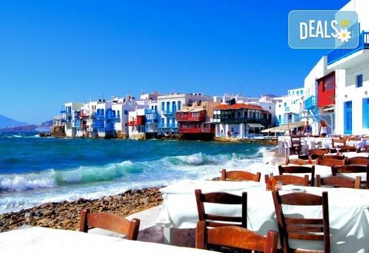 Септемрийски празници с екскурзия на о. Миконос - перлата на Гърция! 4 нощувки със закуски, транспорт, водач и посещение на Атина - Снимка 2
