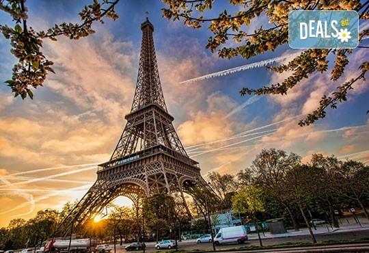 Романтична екскурзия в Париж, Франция: 3 нощувки, закуски, самолетен билет